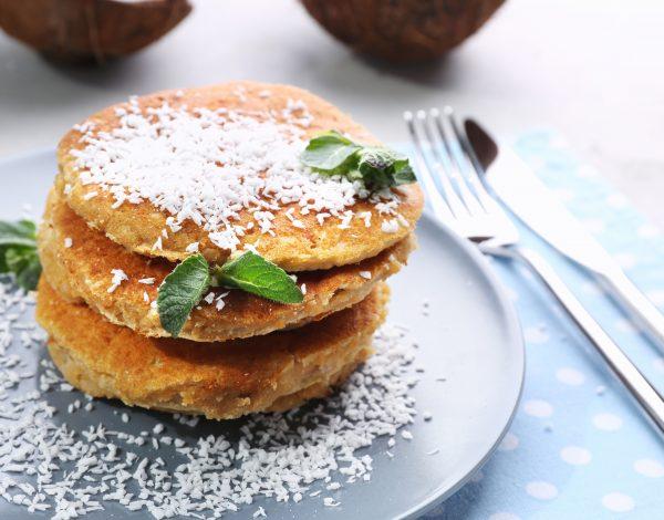 Recept dana: Zdrave kokos palačinke