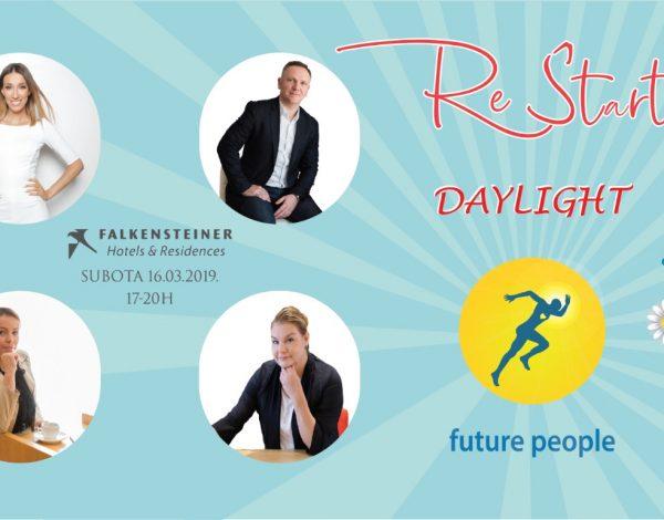 Pozivamo  vas na treću #ReStartDAYLIGHT konferenciju