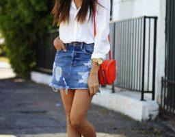 Mini teksas suknje – omiljeni prolećni must have