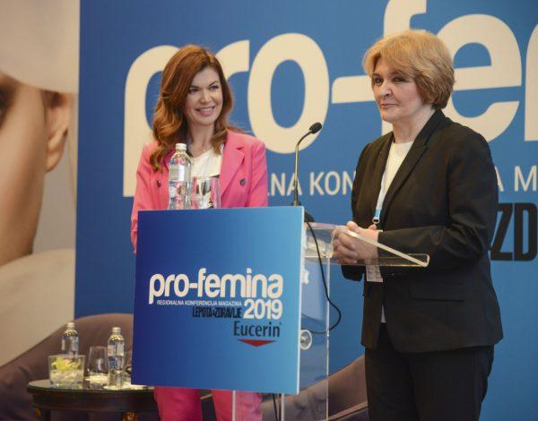 """Održana 7. konferencija """"Pro-femina"""" u organizaciji magazina """"Lepota i zdravlje"""": Dr Danica Grujičić dobitnica """"Pro-femina nagrade""""!"""