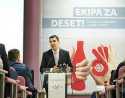 Decenija uspešne saradnje FON-a i COCA-COLE HBC Srbija