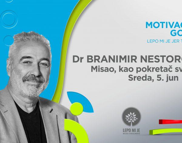 Predavanje doktora Branimira Nestorovića: Misao kao pokretač svemira