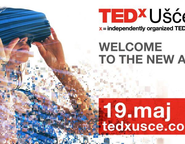 Besplatan prenos TEDxUšće 19. maj: Pronađi inspiraciju gde god da si