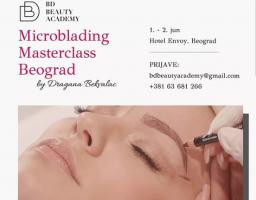 BD Beauty Academy Microblading Masterclass: Naučite tehniku japanskog iscrtavanja obrva!