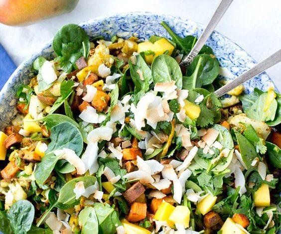 Recept dana: Salata od slatkog krompira i badema