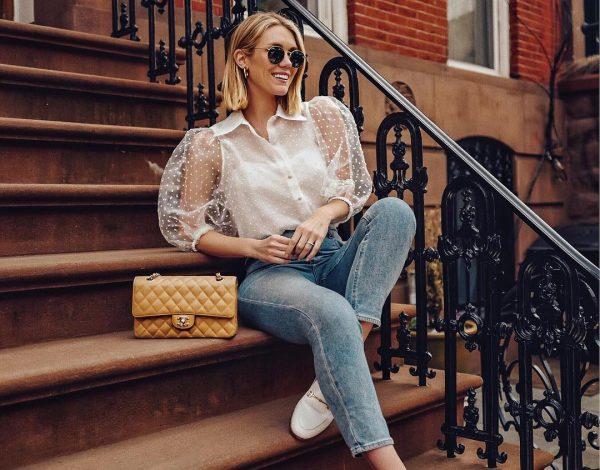 Trend alert: Ženstvene prozirne bluze