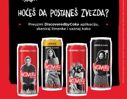 Discovered by Coke! – Postani nova muzička zvezda