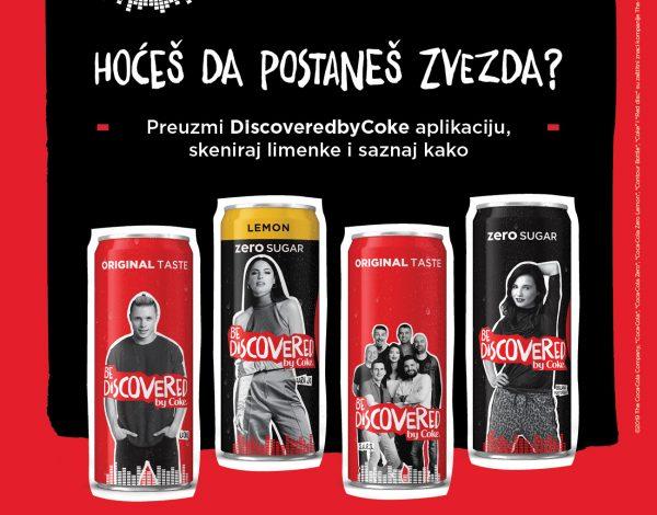 ,,Discovered by Coke'' otkriva nove muzičke zvezde
