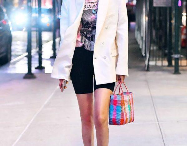 Evo kako ih nosi Gigi Hadid: Biciklističke i sako kao trendi poslovan stajling!