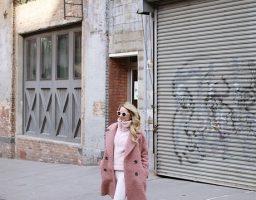 Pink teddy kaput razbija jesenju monotoniju