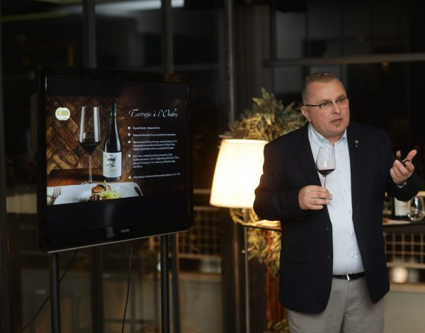 "Predstavljena francuska vina ""Château de Gourdon"""