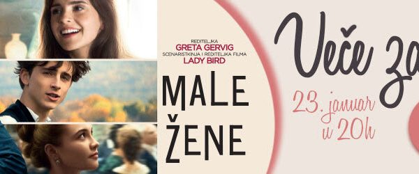 """Veče za dame uz film """"Male žene"""""""