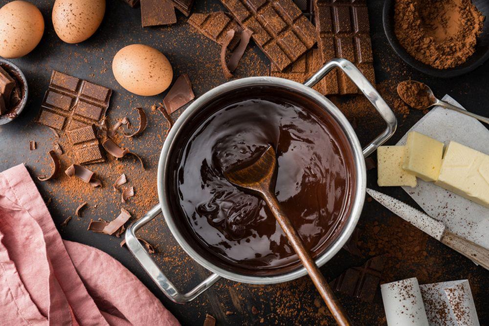 recept cokolada