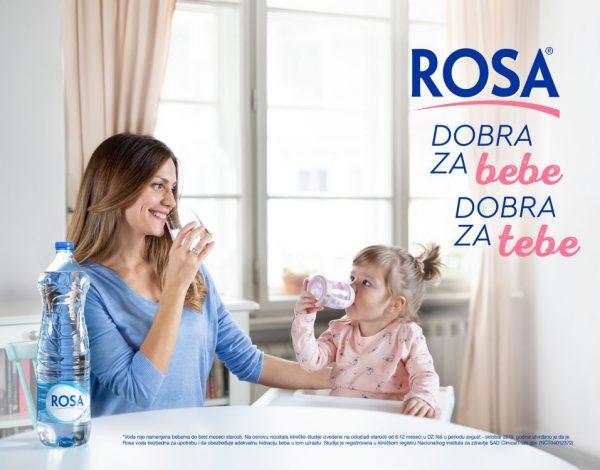 Dokazano dobra za bebe – Rosa voda