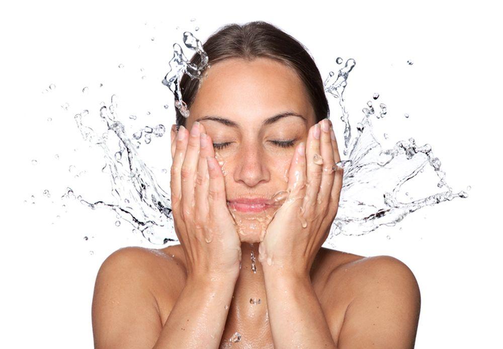 devojka lice zdravlje voda