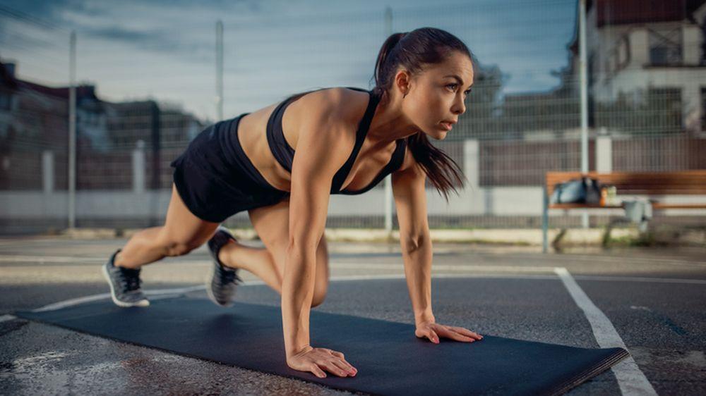 fitness devojka lepota