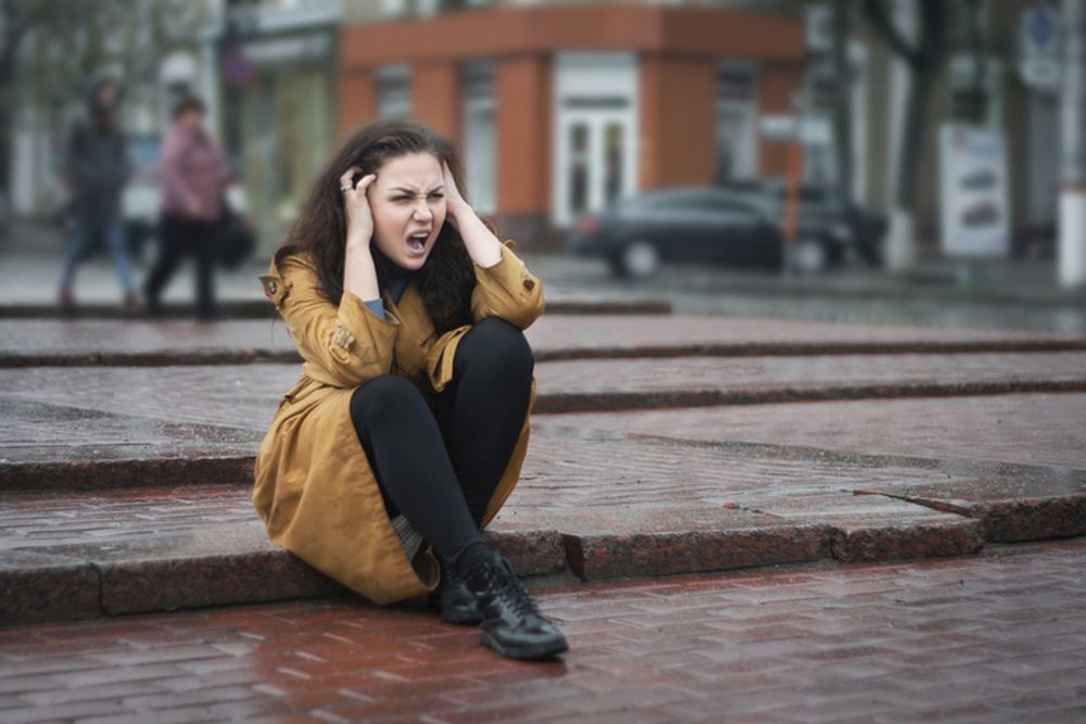 suze stres devojka zdravlje