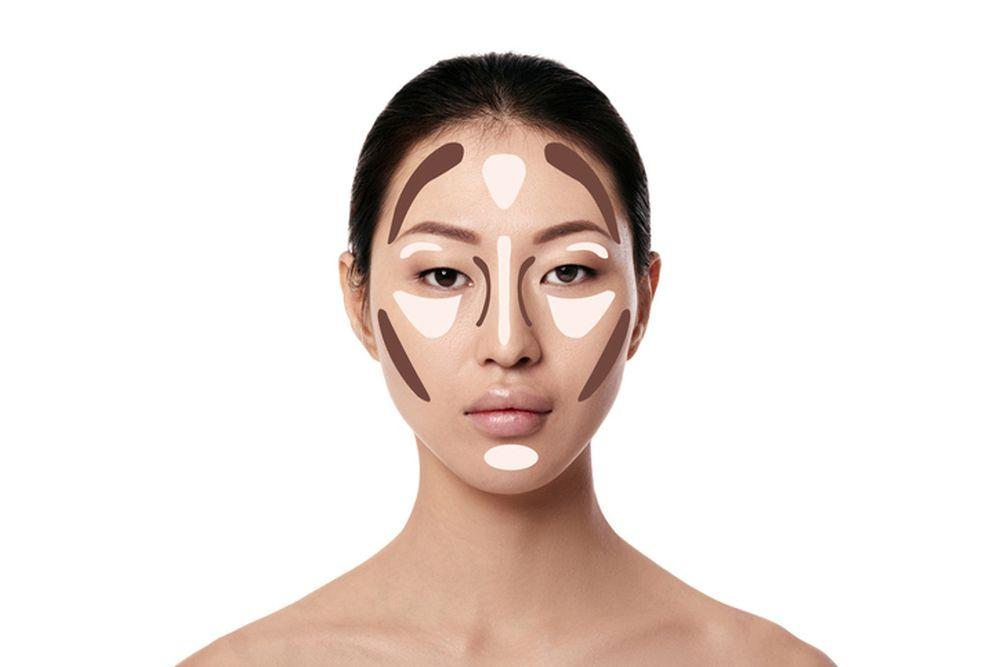 iscrtavanje kontura lica lepota