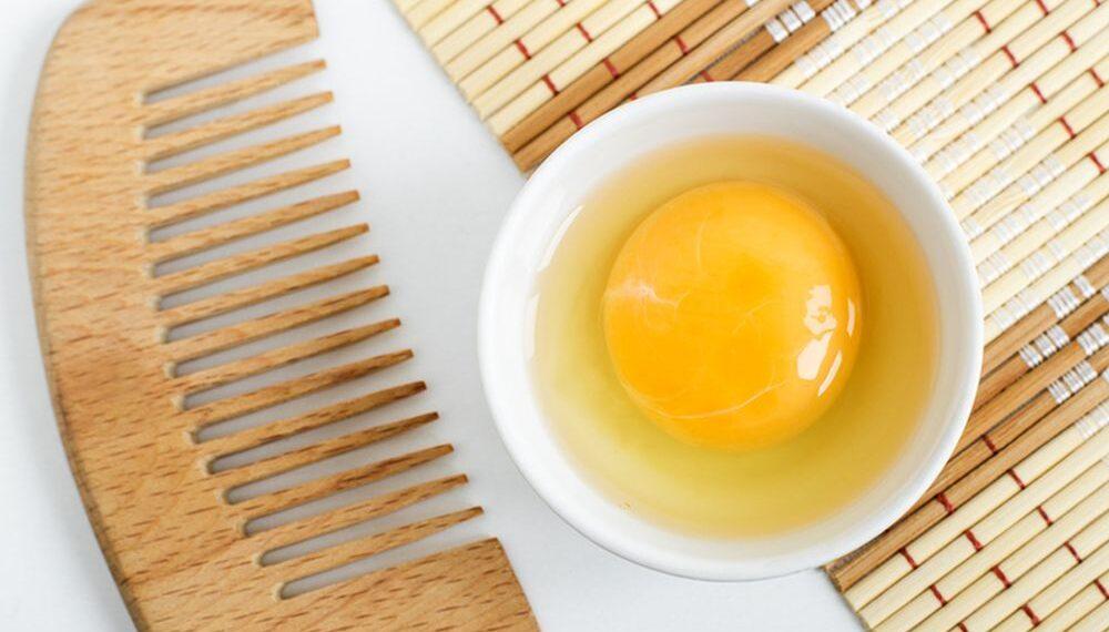 jaje maska za kosu