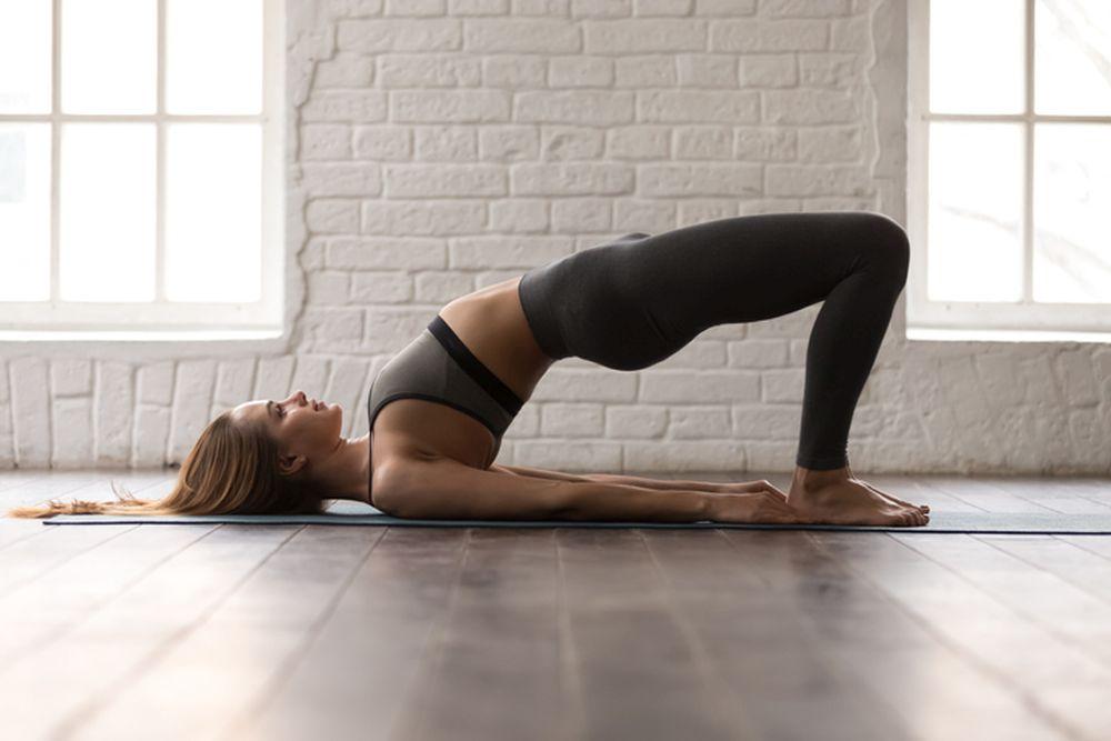 joga most devojka zdravlje