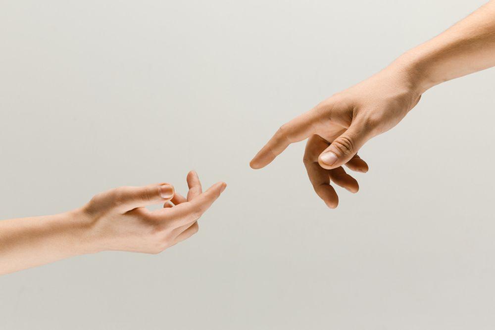 prsti partneri lepota