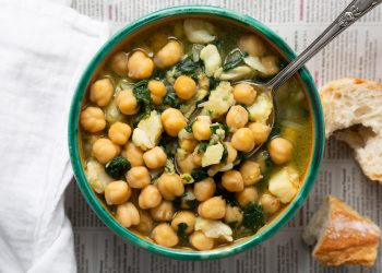 Mediteranska supa od leblebija