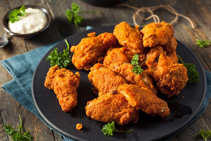 skrivene kalorije, pohovana piletina