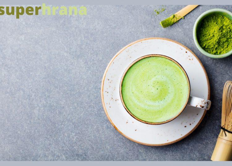 mača zeleni čaj