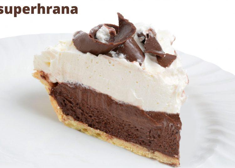veganska čokoladna pita