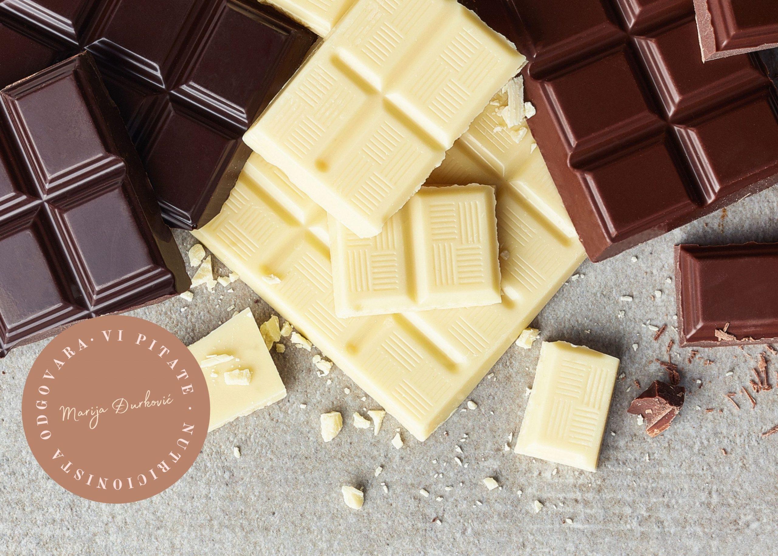 Koja čokolada je zdravija