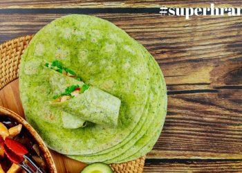 Veganska tortilja od spanaća